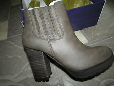 NEW MADDEN GIRL MAZZIEE ANKLE BOOTS WOMENS 7.5 STONE PARIS