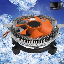 CPU Cooling Cooler Fan 7 Blade Heatsink For Intel LGA 775 1155 1156 AMD 754 AM2