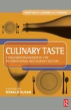 Culinary Taste: Consumer Behaviour in the International Restaurant Sec-ExLibrary