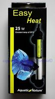 Easy Heat 25W Aquatic Nature wasserdicht  Heizer für Aquarien Heizstab