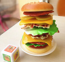 NEW Kids The Stacking Burger Game / Educational Balancing Burger Game Toy  445