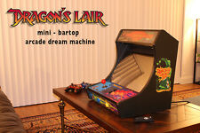 Dragon's Lair / Space Ace CUSTOM Mini bartop ARCADE GAME machine CABINET MAME