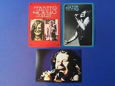 Janis Joplin Music JAPAN album Tour promo ad POST CARDS Japanese flyer