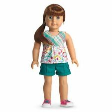 AMERICAN GIRL Doll EASY BREEZY OUTFIT + Charm  New in Box MY AG