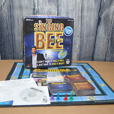 The SINGING BEE BOARD GAME [NBC] Complete in box CD Cards Die Pieces