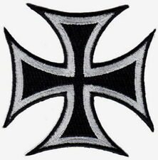 """Cross Embroidered Patches 3""""x3"""""""