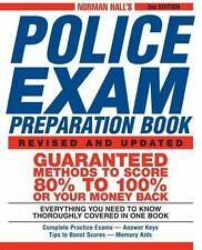 Norman Hall's Police Exam Preparation Book Norman Hall Books-Good Condition