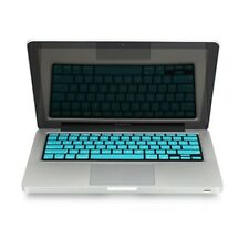 "REDUCE OVERHEAT ! AQUA BLUE Silicone Keyboard Cover for Macbook Pro 15"" A1286"