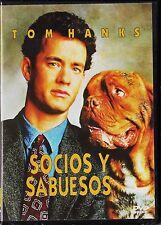 SOCIOS Y SABUESOS de Roger Spottiswoode con Tom Hanks. Agotada en todos los form