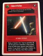 Star Wars CCG WB Unlimited Dagobah Failure At The Cave
