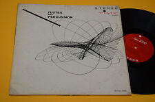 LP AVANT GARDE JAZZ SERIE 2000 TIME-FLUTES AND PERCUSSION-1°ST ORIG '70 GATEFOLD