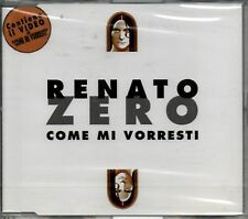 ZERO RENATO COME MI VORRESTI CD SINGOLO + VIDEO SEALED