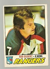 1977 - 1978 Topps Hockey Set ROD GILBERT Card