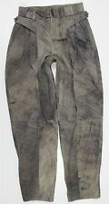 MINT M. Julian Adventures Motorcycle Lined Brown Leather Pants MENS 34 x 36