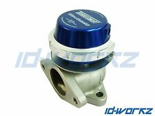 TURBOSMART WG38 EXTERNAL WASTEGATE BLUE FOR SUBARU IMPREZA WRX STI LEGACY TURBO