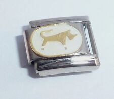 TAURUS Italian Charm - 9mm fits Classic Bracelets - Horoscope Zodiac Sign Symbol
