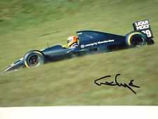 Karl Wendlinger SIGNED Sauber-IImor C12 , Brazilian Grand Prix Interlagos 1993