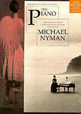 The Piano  By  Michael Nyman, Paperback, Like new, free shipping
