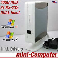 MINI KLEIN COMPUTER PC 1500MHZ FOR WINDOWS XP 7 40GB 1GB DUAL HEAD DVI GAMES TOP