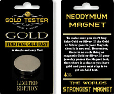 9ct gold silver  Testing Magnet kit  bullion  Silver Solid Gold Coins Tester.
