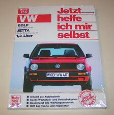 Reparaturanleitung VW Golf II / VW Jetta II  1,3 l - Baujahre 1983 bis 1992!