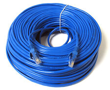 75FT 75 FT RJ45 CAT6 CAT 6 HIGH SPEED ETHERNET LAN NETWORK BLUE PATCH CABLE