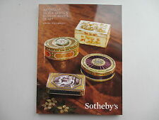 Important Silver, Vertu & Russian Works Of Art. Sotheby's, NY. 29 October 2013