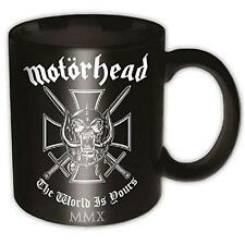 Motorhead - The World Is Yours Ceramic Coffee / Tea Mug - New & Official In Box