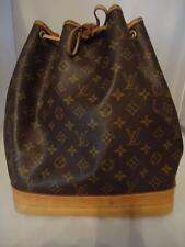 AUTHENTIC LOUIS VUITTON LARGE NOE MONOGRAM DRAWSTRING SHOULDER TOTE BAG