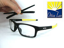 Occhiali Vista Oakley Crosslink Pitch 8037 19 Black Yellow 52 GLASSES Sehbrille