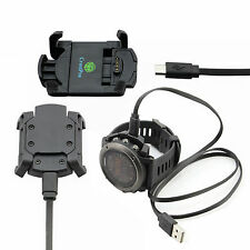 Charging & Data Cradle USB Interface Cable For Garmin Fenix 3 GPS Sport Watch