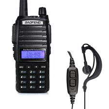 BAOFENG UV-82 Dual Band UHF/VHF 137-174/400-520MHz 2 Way FM Radio + Earpiece US