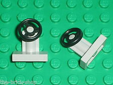 LEGO OldGray Steering Stand and Wheel ref 3829c01 / 6950 4557 487 483 497 4561..