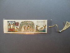 BOOKMARK EGYPTIAN PAPYRUS NEKHBET  Ancient Egypt Field Works Workers