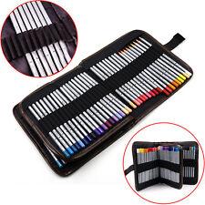 Hot Canvas Pencils Pen Holder Pouch Bag Roll Up Case Wrap for 72 pcs Pencils