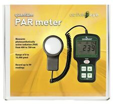 IN STOCK, SHIPS NOW !! HydroFarm Portable Quantum PAR Meter Light Sensor Measure