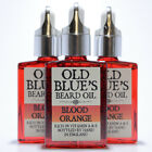 Old Blues Beard Oil Blood Orange 100% Natural with Vitamin E 30ml