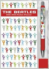 The Beatles 2015-2016 Pocket Planner with Pen Calendar ( Collector Item)