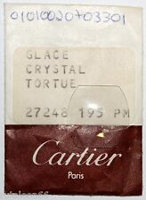 Genuine crystal CARTIER  TORTUE # 27248 195 PM watch parts. New old stock