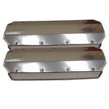 BBC Big Block Chevy Fabricated Aluminum Valve Covers Tall without hole