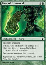 *MRM* FR 4x Poings de ferbois (Fists of Ironwood) MTG Ravnica