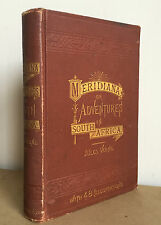 Antique Jules Verne 1st First Edition Meridiana South Africa 1874 Illustrated