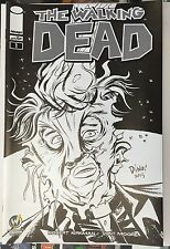 WALKING DEAD #1 Raleigh Wizard World Comic Con Exclusive Variant Cover Sketch