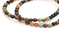 Semi Precious Fancy Jasper Round Beads 4MM