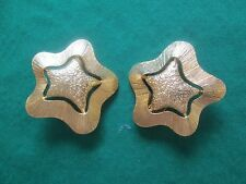 AVON VINTAGE **STARSCAPE CLIP-ON EARRINGS**  **NEW IN STORE BOUGHT BOX**