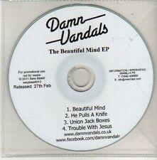 (CU459) Damn Vandals, The Beautiful Mind EP - 2011 DJ CD