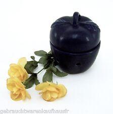 Keramik Aromalampe Stövchen für Teelicht blau Ø ca. 12,5 cm für Duftwachs Duftöl