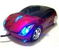 800DPI Optical Cool Red Car Shape USB 2.0 3D Optical Mouse Mice For PC Laptop MT