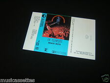 THE BEACH BOYS IN CONCERT NEW ZEALAND UNUSED INLAY CARD