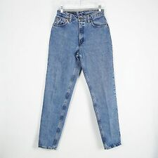 Vintage USA Levi's 550 High Waist Relaxed Tapered Blue Mom Jeans 8 Reg L 28 x 33